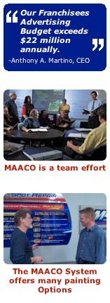 Maaco Collision Repair & Auto Painting a franchise opportunity from Franchise Genius