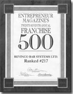Bevinco a franchise opportunity from Franchise Genius