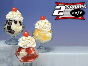 2 Scoops Cafe a franchise opportunity from Franchise Genius