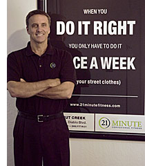21 Minute Convenience Fitness a franchise opportunity from Franchise Genius