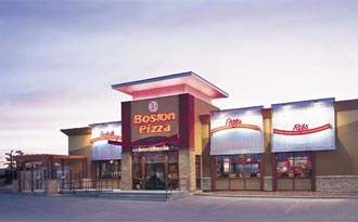 Boston Pizza International a franchise opportunity from Franchise Genius