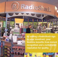 Radioshack a franchise opportunity from Franchise Genius