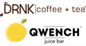 DRNK coffee + tea / QWENCH juice bar Franchise Opportunity