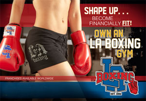 LA Boxing a franchise opportunity from Franchise Genius