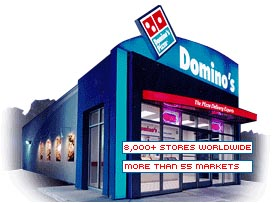 Domino's Pizza a franchise opportunity from Franchise Genius