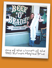 Beef O'Brady's Family Sports Pubs a franchise opportunity from Franchise Genius