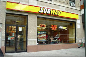 Subway a franchise opportunity from Franchise Genius