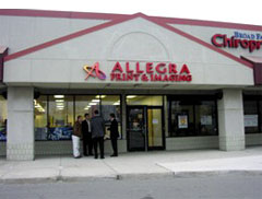 Allegra Print & Imaging a franchise opportunity from Franchise Genius